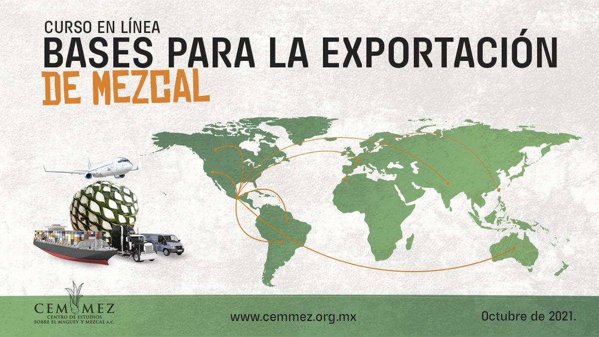 Exportación de mezcal